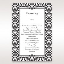 glitzy-gatsby-foil-stamped-patterns-order-of-service-ceremony-invite-card-design-DG114093-BK