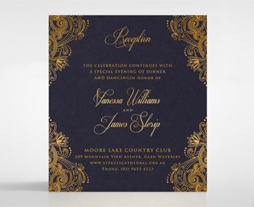 Wedding stationery matching invitation sets by bweddings reception card stopboris Choice Image