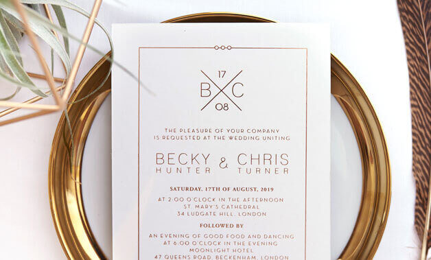 Wedding Invitations Laser Cut Invites Stationery Cards Online – Photo Card Invitations
